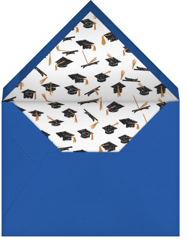 Tassels Up - Mr. Boddington's Studio - Graduation - envelope back