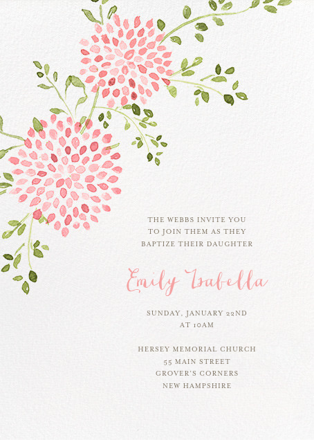 First communion invitations online at Paperless Post