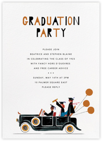 Road Trip to Portland - Mr. Boddington's Studio - Celebration invitations