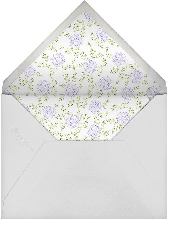 Dahlias (Tall) - Purple - Paperless Post - Baptism  - envelope back
