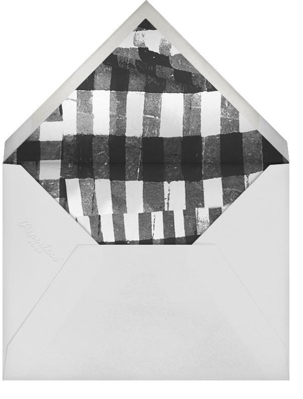 Gardenia - White/Gold - Oscar de la Renta - Adult birthday - envelope back