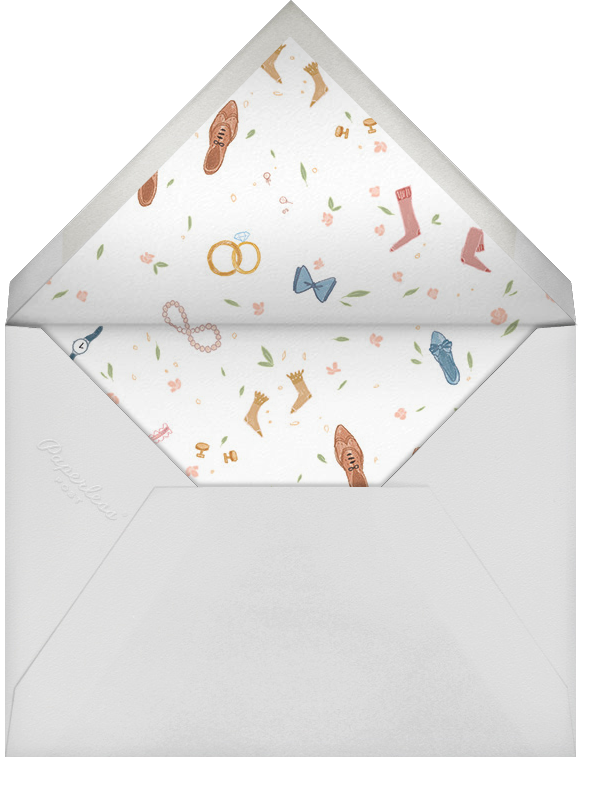 Accessory to Marriage - Paperless Post - Bridal shower - envelope back