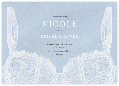 Intimate Situation - Spring Rain - Paperless Post - Bridal shower invitations