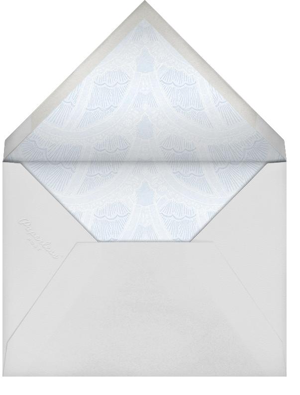 Intimate Situation - Spring Rain - Paperless Post - Bridal shower - envelope back