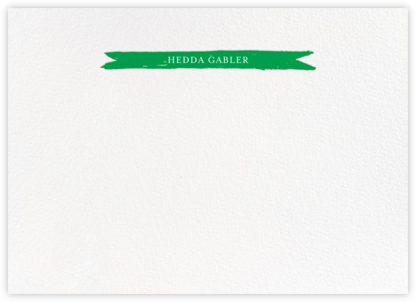 Festoon - Emerald - Paperless Post - Personalized Stationery