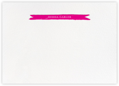 Festoon - Bright Pink - Paperless Post - Personalized Stationery