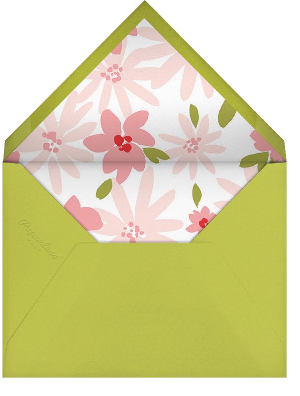 Brushstroke Blooms - Paperless Post - Bridal shower - envelope back