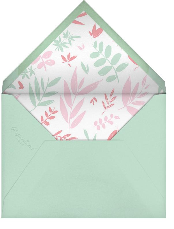 Bridal Bower - Paperless Post - Bridal shower - envelope back