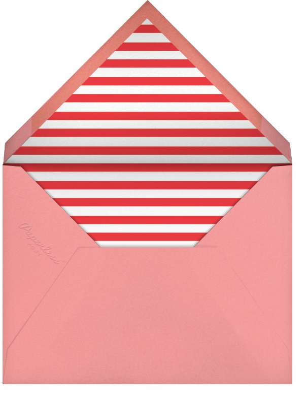 Quint - Red/Gold - Paperless Post - Adult birthday - envelope back