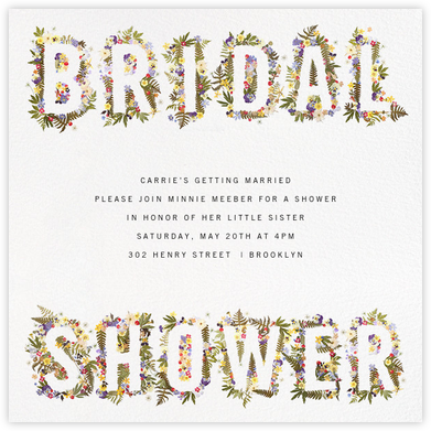 Boyceau Bridal - Paperless Post - Bridal shower invitations