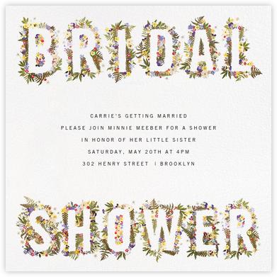 Boyceau Bridal - Paperless Post -