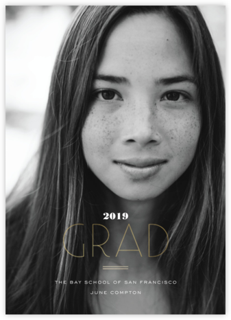 Degree of Elegance - bluepoolroad - Graduation announcements