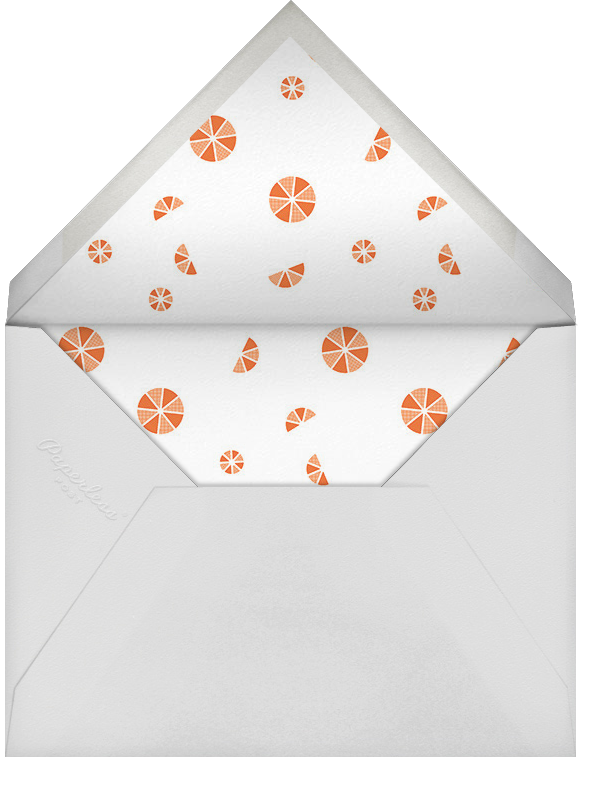 Citrus Fizz - Gold - Paperless Post - Bridal shower - envelope back