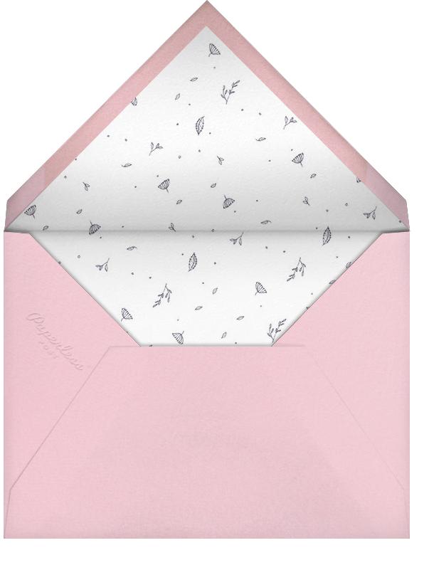 Pouring Petals - Paperless Post - Bridal shower - envelope back