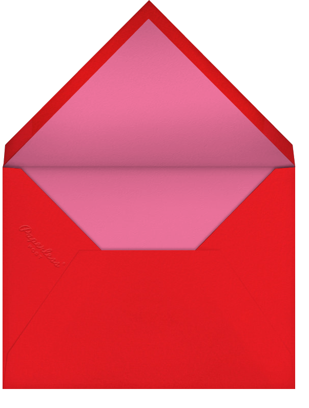 Queen of Diamonds (Danielle Kroll) - Red Cap Cards - Birthday - envelope back