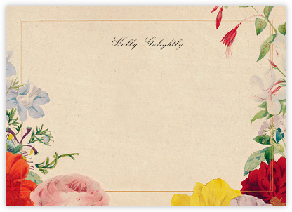 Spring Medley (Stationery) - John Derian - Personalized Stationery