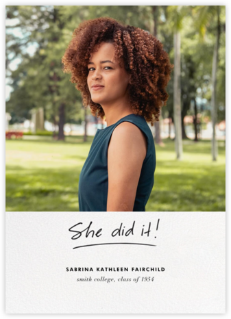 You Did It (Hers) - Linda and Harriett -