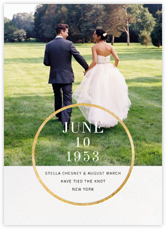 Noland - Gold - Paperless Post - Wedding Announcements