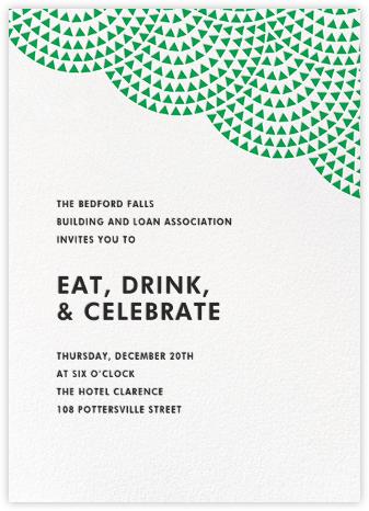 Savoy (Tall) - Emerald - Paperless Post - Reception invitations