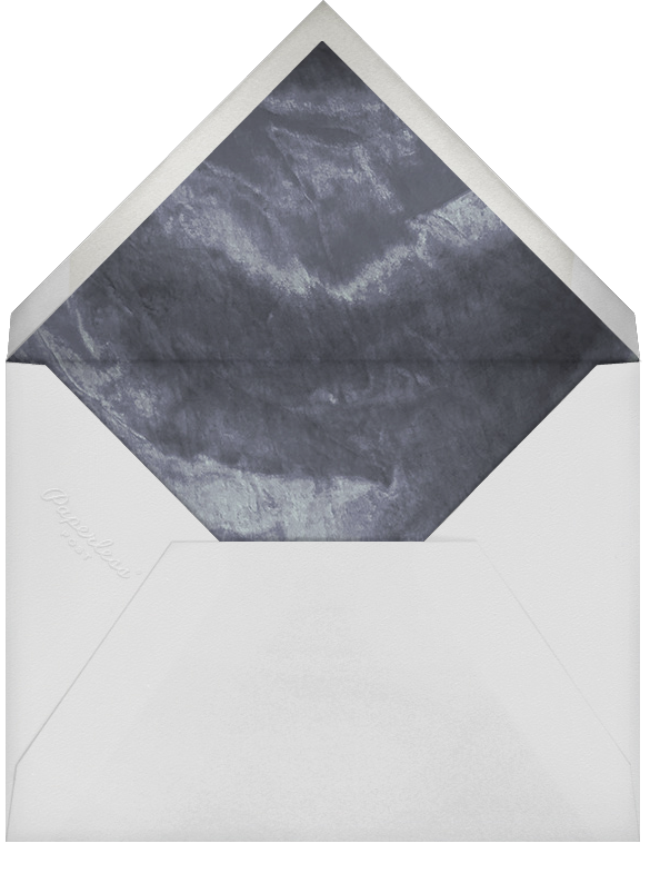 Ando (Stationery) - Silver - Paperless Post - Personalized stationery - envelope back