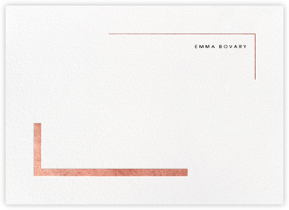 Ando (Stationery) - Rose Gold - Paperless Post -