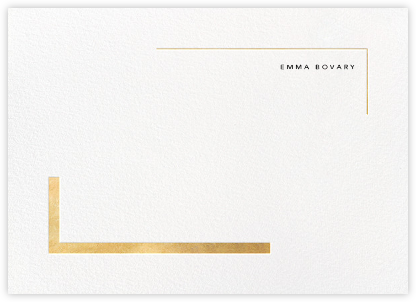 Ando (Stationery) - Gold - Paperless Post - Personalized Stationery