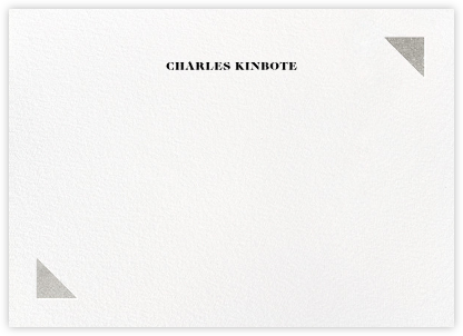 Palermo (Stationery) - Silver - Paperless Post - Personalized Stationery