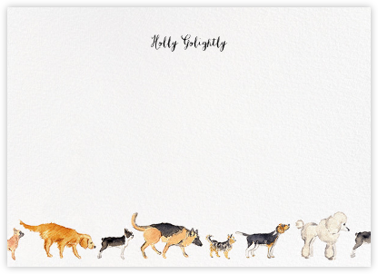 Dog Days (Stationery) - Paperless Post - Personalized Stationery