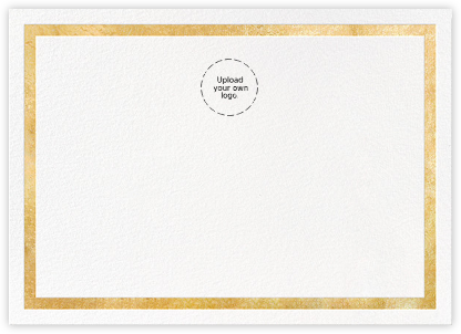 Foiled Frame (Stationery) - Gold | horizontal