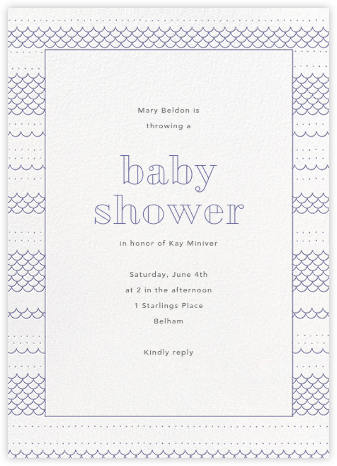 Thalassa - Iris - Paperless Post - Baby Shower Invitations