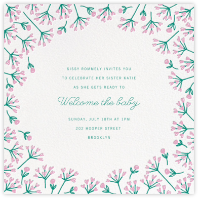 Barton Park (Square) - Paperless Post - Baby Shower Invitations