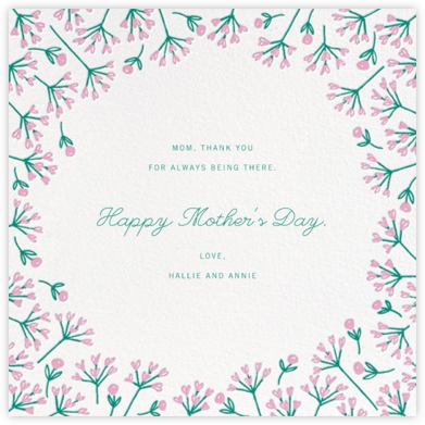 Barton Park (Square) - Paperless Post - Mother's day cards