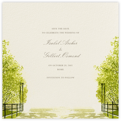 Spring Orchard (Save the Date) - Felix Doolittle - Save the date cards and templates