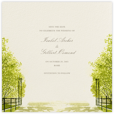 Spring Orchard (Save the Date)