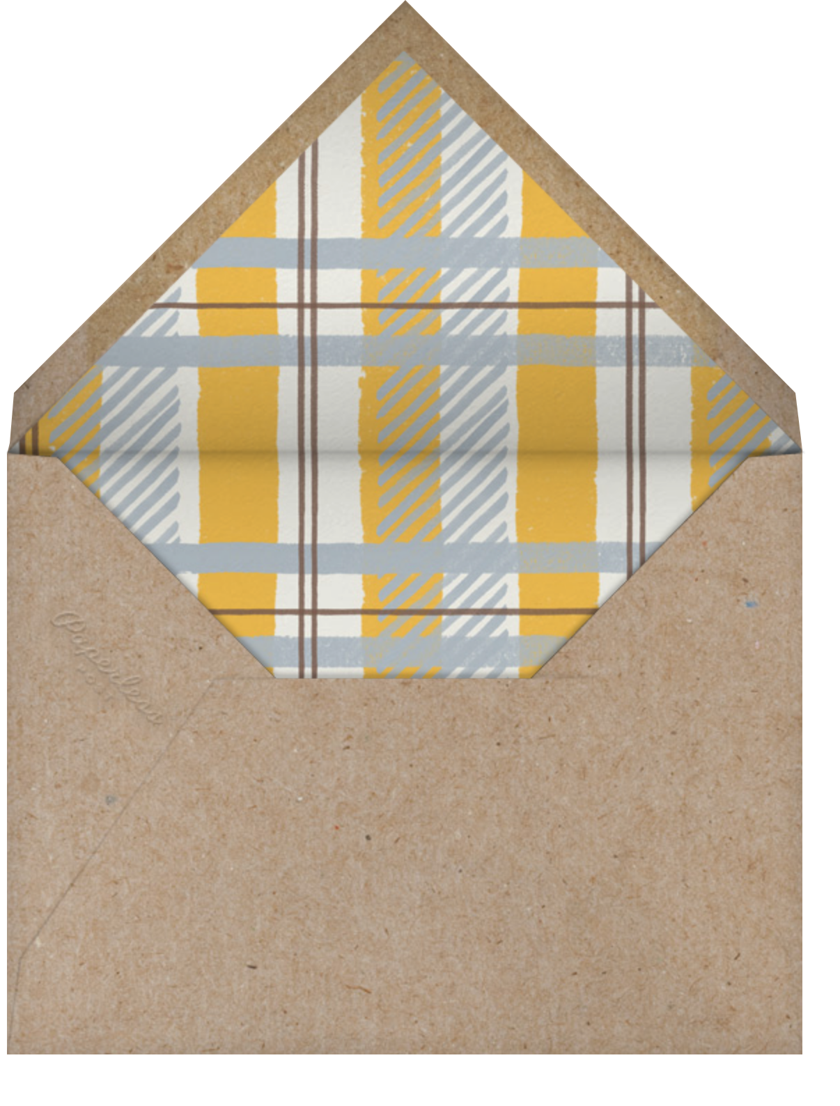 Jesse James - Red - Paperless Post - Kids' birthday - envelope back