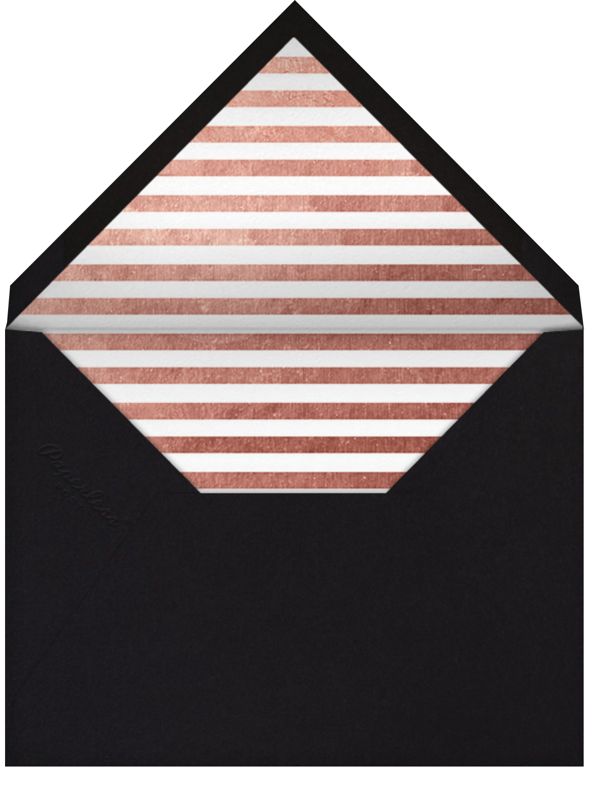 Person of the Year (Invitation) - Rose Gold - Paperless Post - Graduation party - envelope back