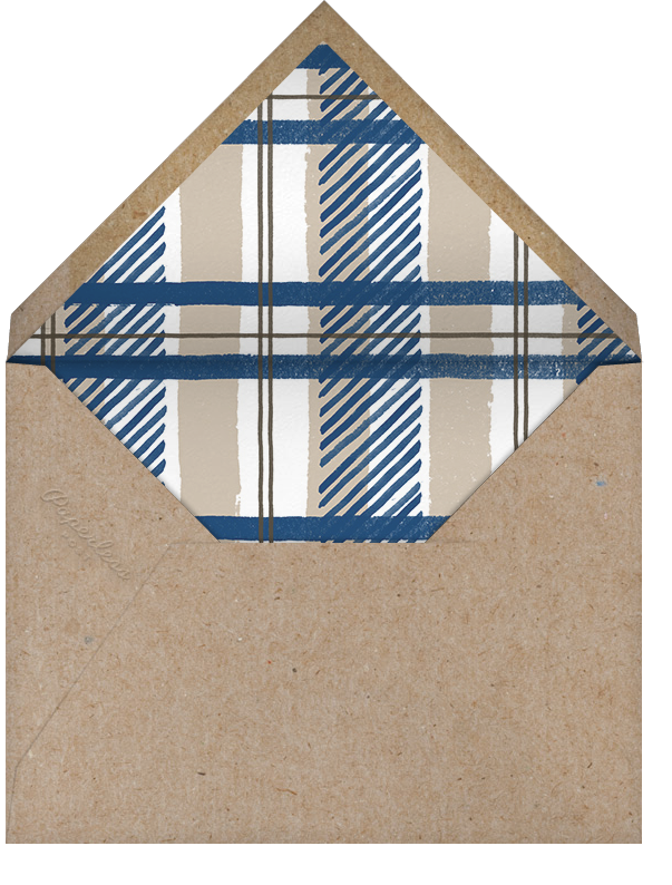Jesse James - Blue - Paperless Post - Kids' birthday - envelope back