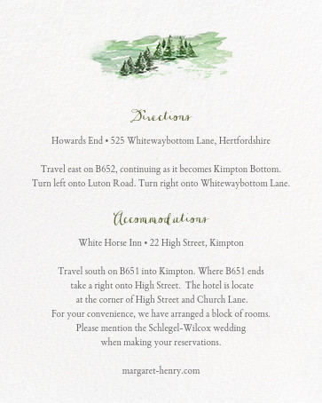 Mountain Flora (Invitation) - Lilac - Paperless Post - All - insert front