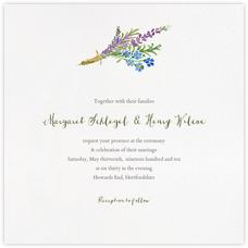 Mountain Flora (Invitation) - Lilac