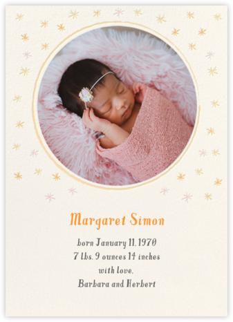 Rising Star - Hello!Lucky - Birth Announcements