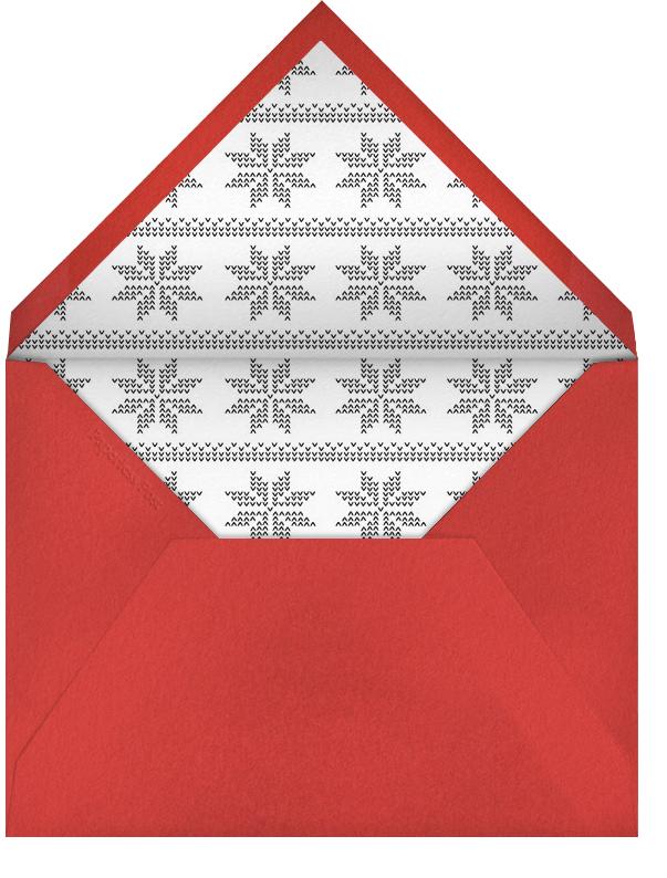 Santa's Map - Paperless Post - Christmas - envelope back