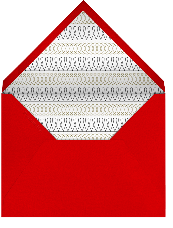 Liquored Up In Lapland - Red - Paperless Post - Christmas party - envelope back