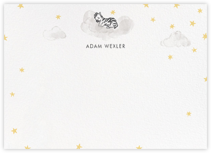 Starry Slumber (Stationery) - Zebra - Paperless Post -