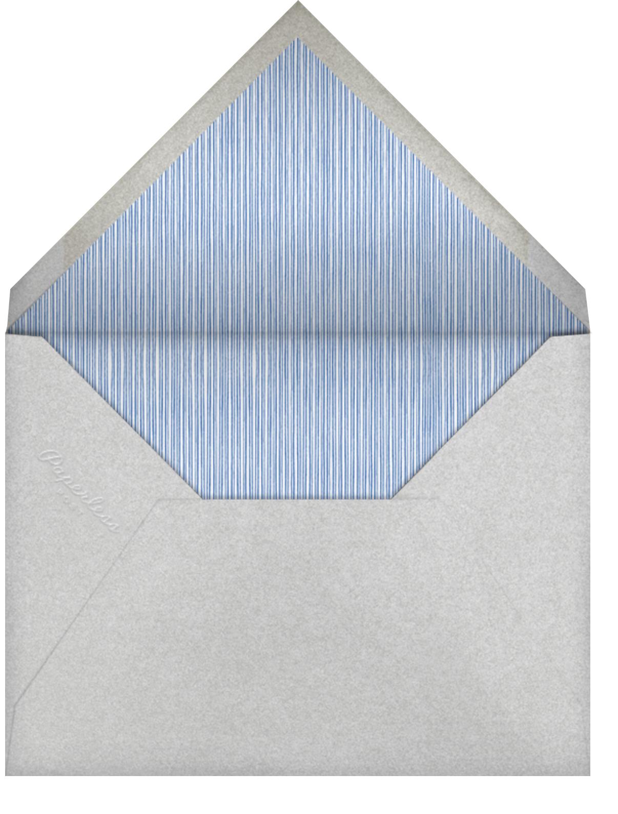 Star of David Border - Blue - Paperless Post - Hanukkah - envelope back