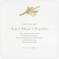 Mountain Flora (Invitation) - Tangelo