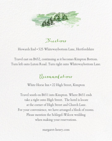 Mountain Flora (Invitation) - Tangelo - Paperless Post - All - insert front