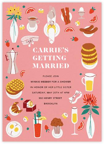 Bridal Buffet - Paperless Post -