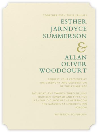 Orient Express – Hunter Green & Moss Green - Crane & Co. -