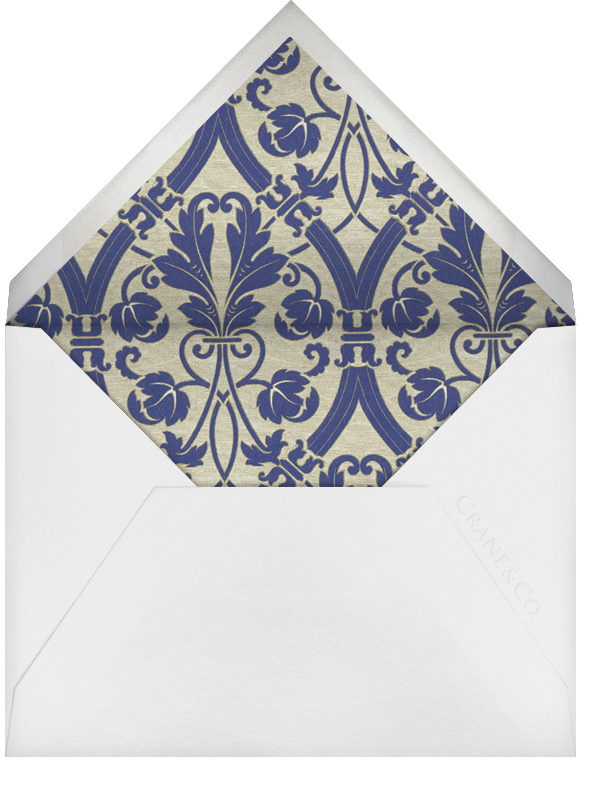 Trasierra (Thank You) - Amethyst - Crane & Co. - Personalized stationery - envelope back