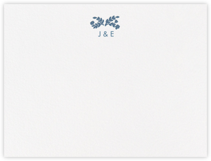 Anthea (Thank You) - French Blue - Crane & Co. - Stationery